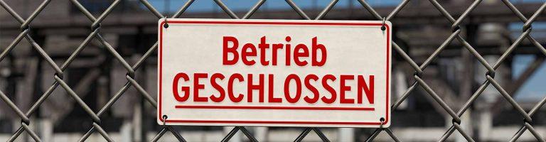 Auflösung, Liquidation und Löschung: So endet eine GmbH